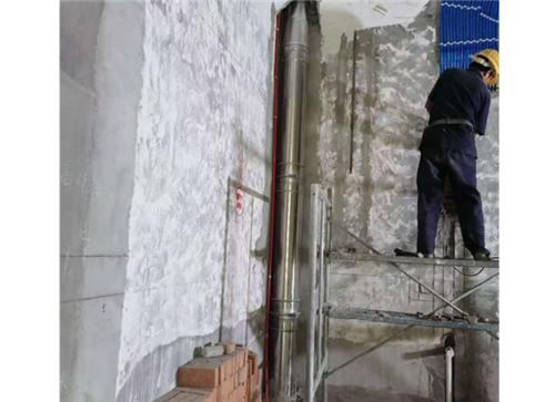 中渝御府别墅不锈钢烟囱安装项目案例