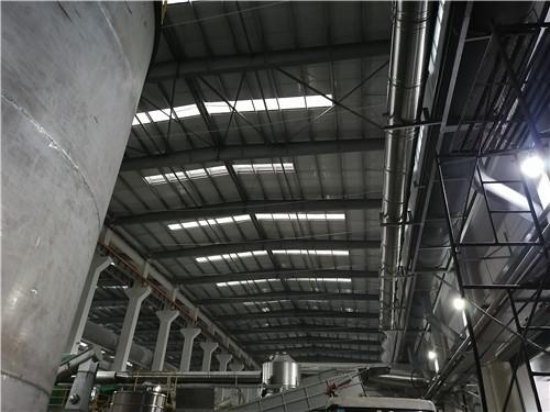 重庆洛碛餐厨厂不锈钢烟囱施工案列