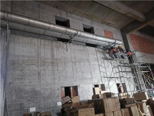 重庆中央公园龙湖天街不锈钢风管项目