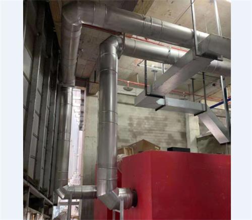 朝天门光控中心锅炉不锈钢烟囱项目案例