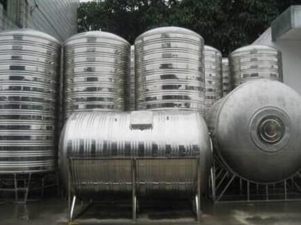 立式圆形水箱